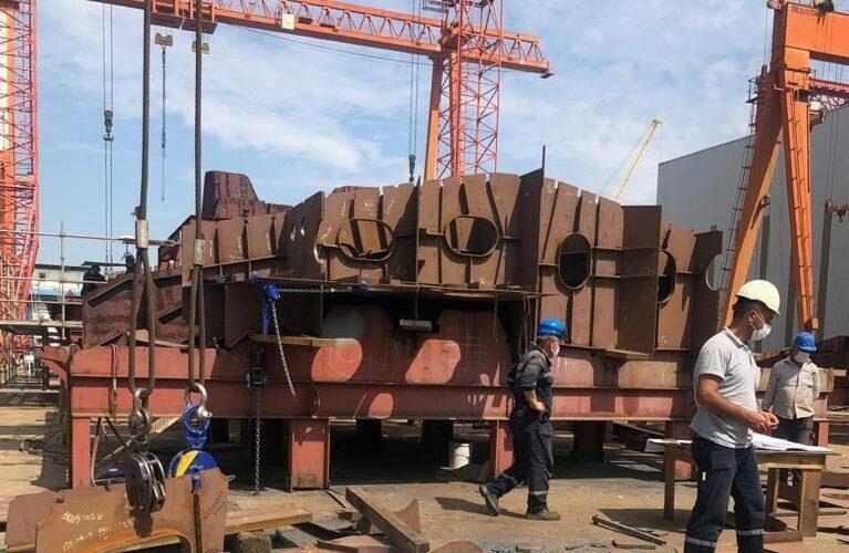 Будівництво першого корвету класу ADA для ВМС України в Туреччині триває з чітким дотриманням графіка, – Андрій Таран