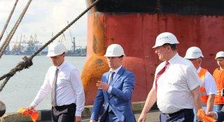 Виробничі потужності ДП «МТП «Чорноморськ» не використовуються у повному обсязі, – віце-прем'єр міністр Олег Уруський