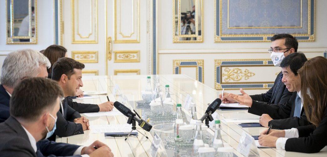 Володимир Зеленський обговорив з Генеральним секретарем Всесвітньої митної організації реформу української митниці