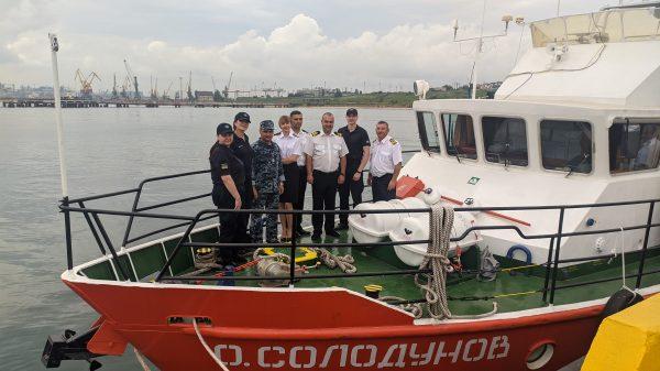 Представники Одеського загону Морської охорони Державної прикордонної служби України відвідали ДУ «Держгідрографія»
