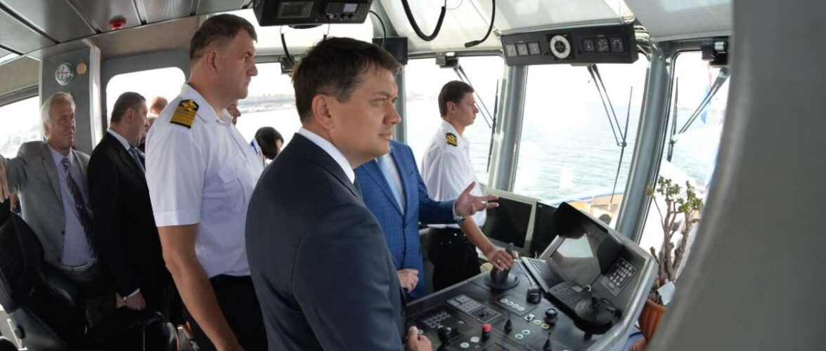 Україна має великий потенціал портової галузі – Дмитро Разумков
