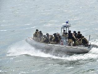 Спецпризначенці ВМС ЗС України здійснили контрольну висадку