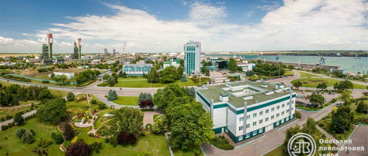 Одеський припортовий завод за шість місяців відвантажив на морський порт 1037,0 тис тонн аміаку та 362,9 тис тонн карбаміду