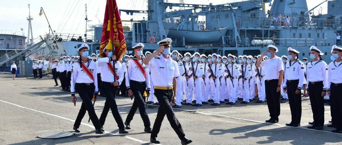 В Одесі курсанти військово-морських навчальних закладів склали Військову присягу на вірність Українському народові