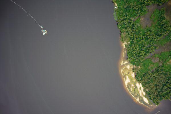 Безпілотніки «Укрморкартографія» обстежили понад 145 км2 території Кременчуцького та Каховського водосховища