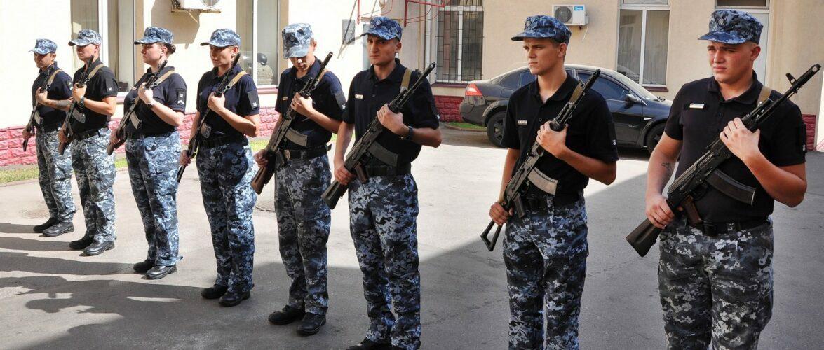 В Одеському загоні морської охорони прикордонники присягнули на вірність українському народові
