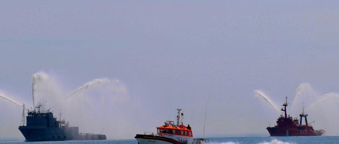 Генеральна репетиція Військово-морського параду відбулась в Одесі