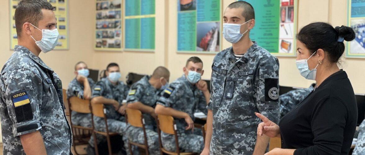 Морські прикордонники продовжують мовну та фахову підготовку в рамках українсько-французького проєкту ОСЕА