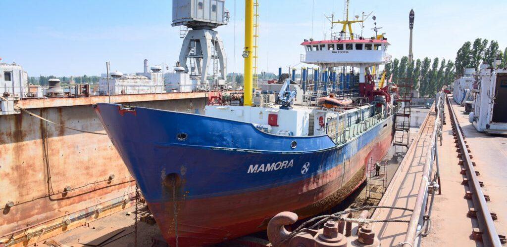 Суднобудівний завод «Океан» відремонтує земснаряд MAMORA
