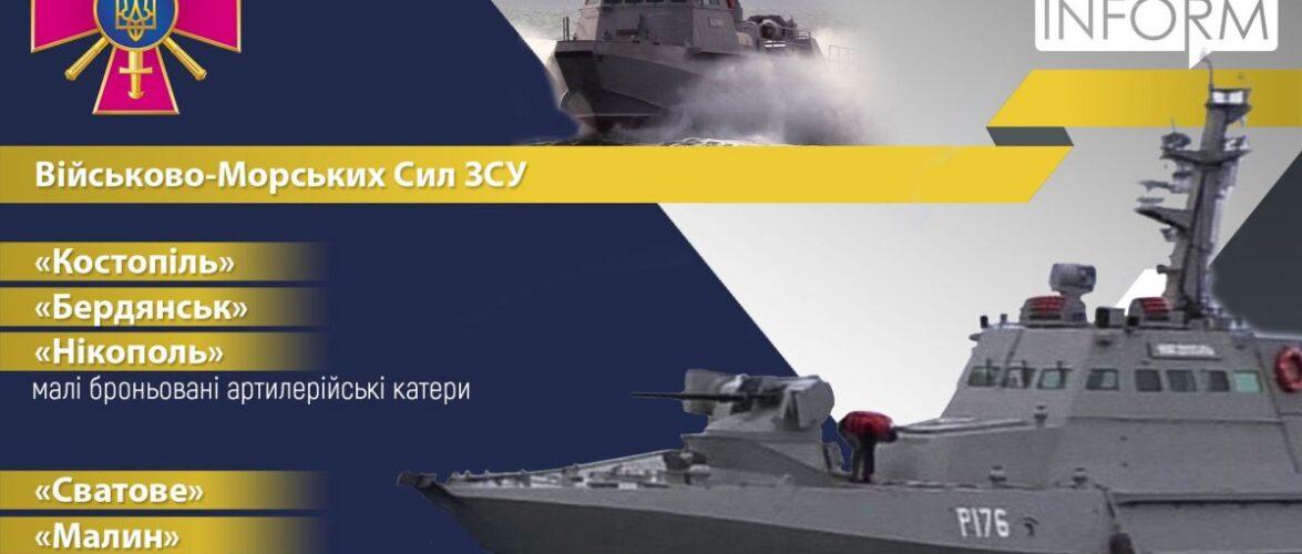 У морській складовій параду до Дня Незалежності візьме участь шість кораблів ВМСУ