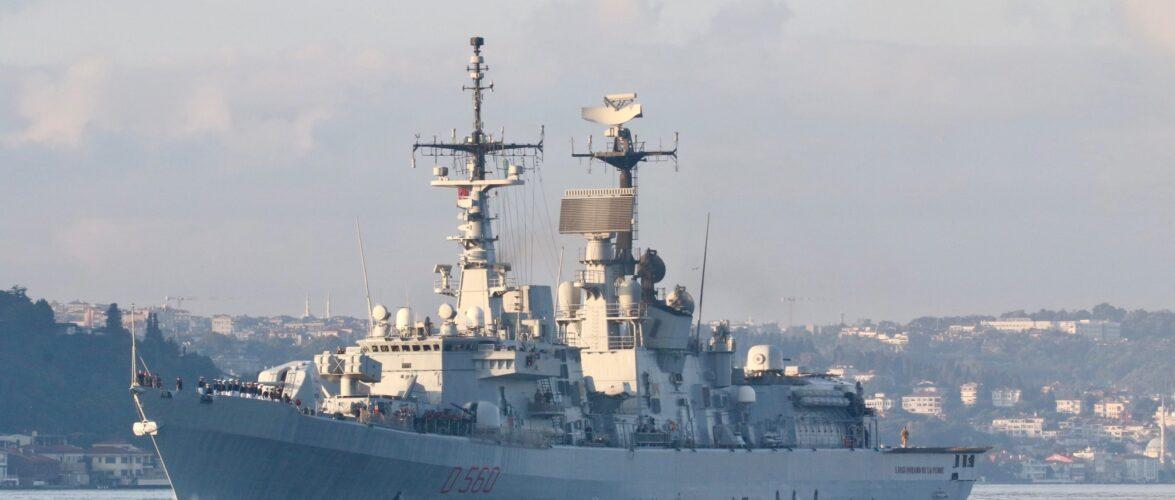 У військово-морському параді в Одесі візьмуть участь кораблі Грузії, Італії, Болгарії, Румунії та Туреччини