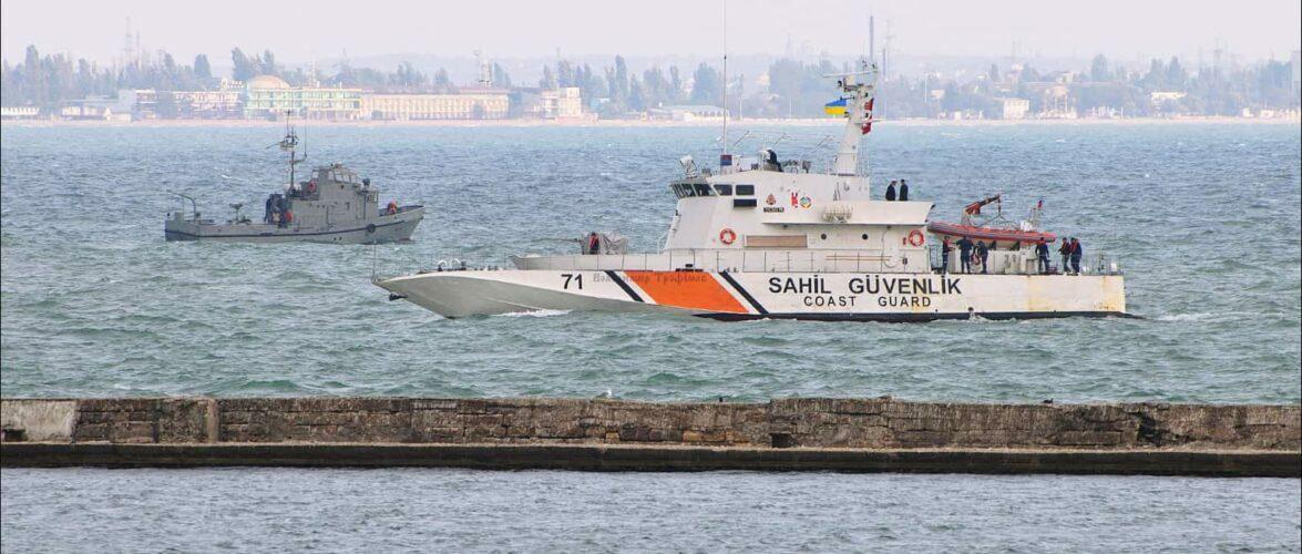 Флагман Морської охорони відправився з дружнім візитом до Туреччини