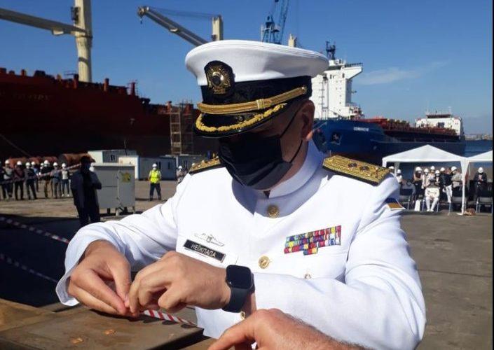 У Туреччині відбулась закладка корвету для ВМС України