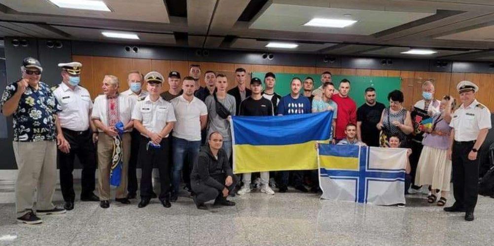 """Українські моряки прибули у США для навчання на катерах типу """"Island"""""""