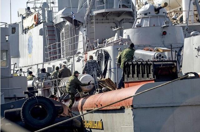 Повідомлено про підозру командиру бригади ракетних кораблів Чорноморського флоту РФ за захоплення корвету «Хмельницький» ВМС України