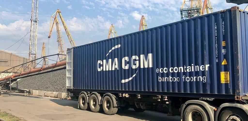 Херсонський порт почав вантажити перші 40 контейнерів на експорт