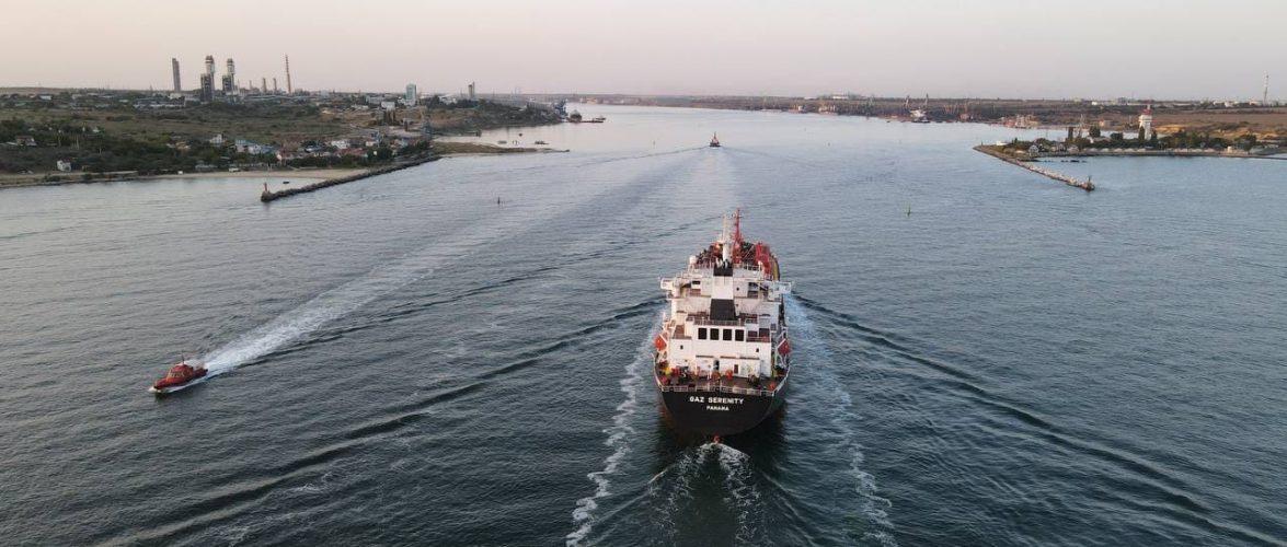 Морський порт Південний обробив 32 млн 775 тис. тонн з початку року