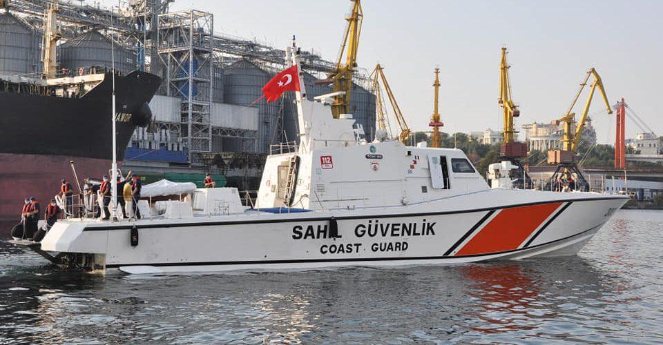 В Практичну гавань Одеського морського порту ранком зайшов катер Берегової охорони Туреччини