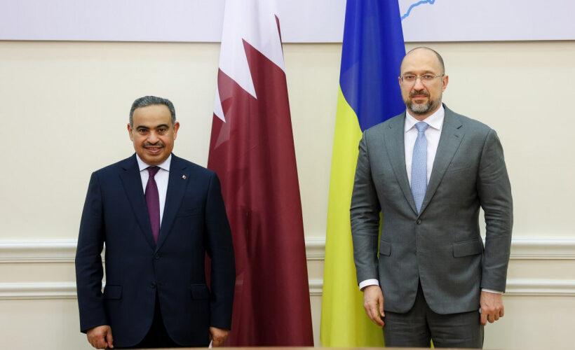 Прем'єр-міністр України обговорив зміцнення торговельної та інвестиційної співпраці з Міністром торгівлі й промисловості Катару
