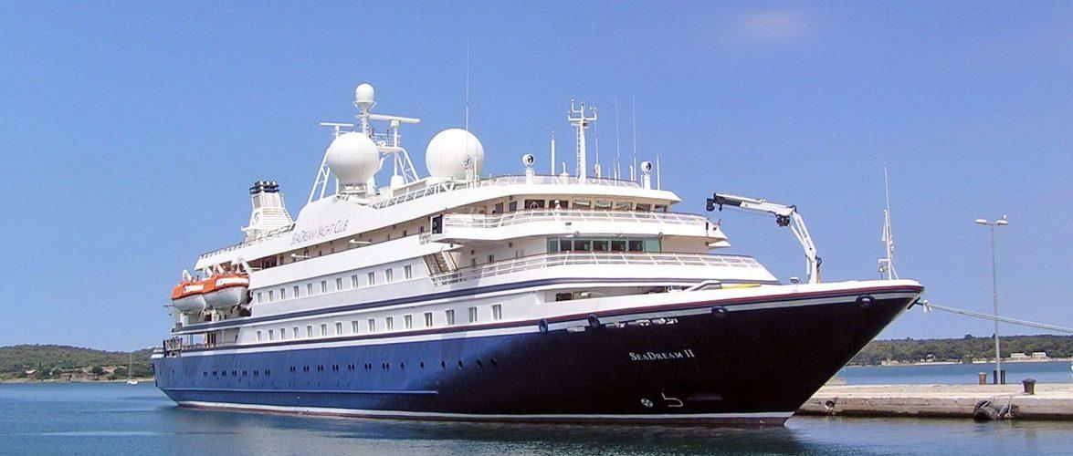 Вперше від початку пандемії до Одеського порту завітав круїзний лайнер SeaDream II