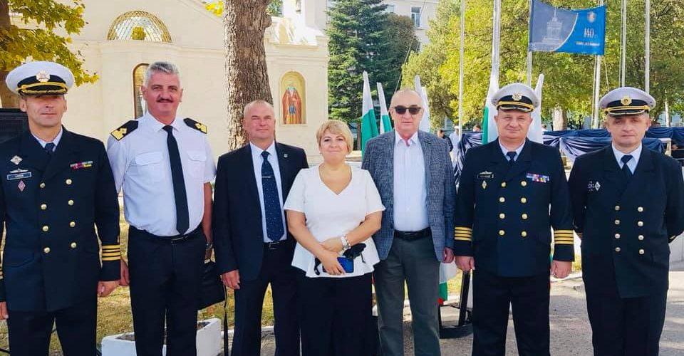 Військові моряки відвідали з дружнім візитом болгарських колег