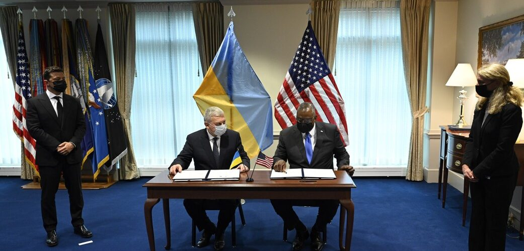 У присутності Президента підписано угоду, яка визначає новий етап співпраці України та США у сфері оборони й безпеки