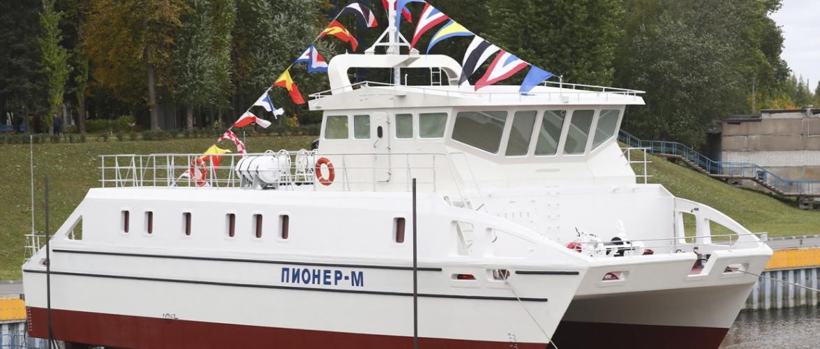 У Росії спустили безекіпажне судно для Чорного моря
