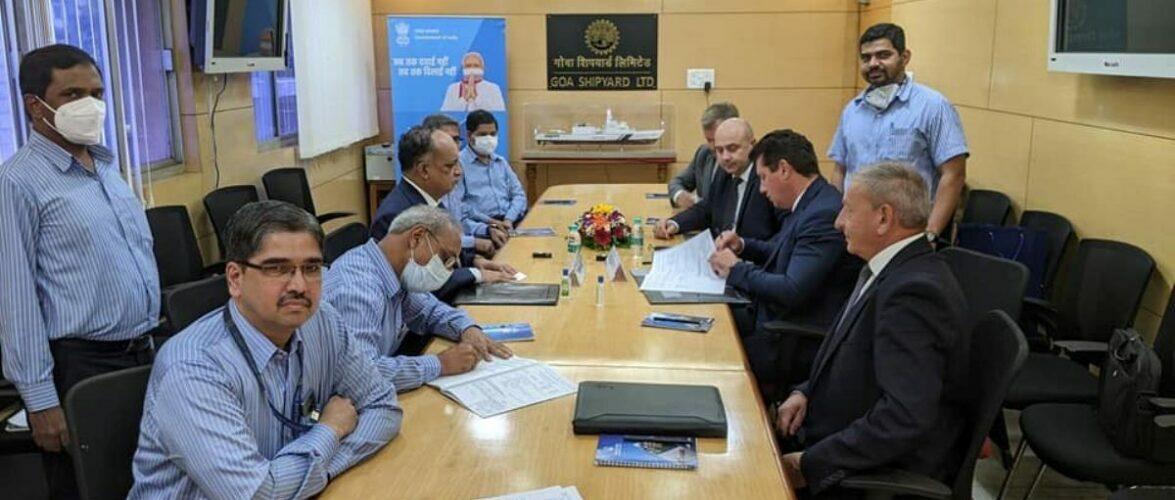 «Зоря»-«Машпроект» уклало контракт на постачання газотурбінних агрегатів для потреб Військово-морського флоту Індії