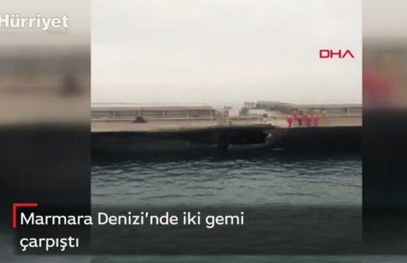 У Мармуровому морі зіткнулись судна з України та Болгарії