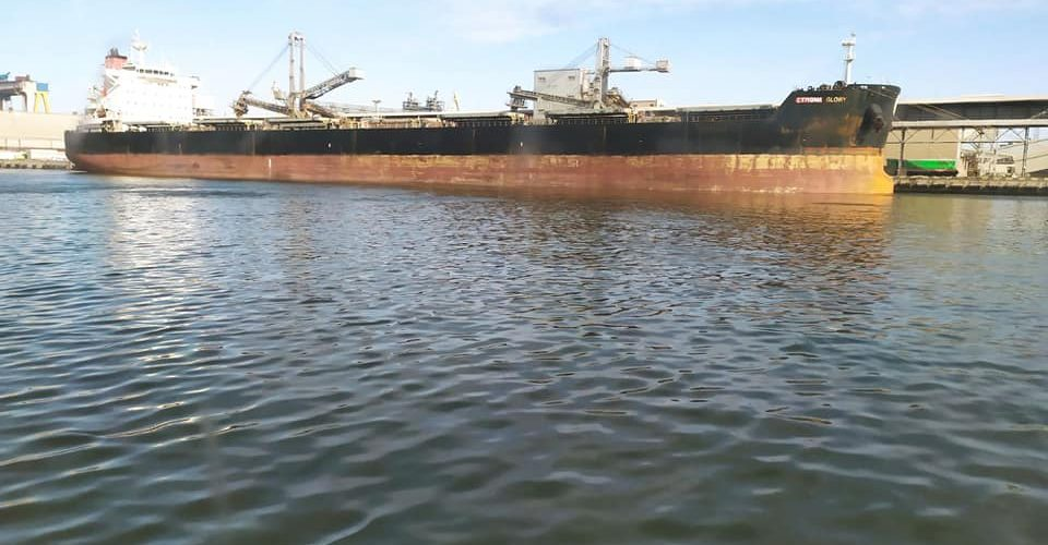 Миколаївські лоцмани завели до морського терміналу «Ніка-Тера» рекордне за довжиною судно