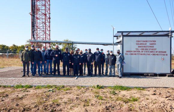 На узбережжі Чорного та Азовського морів побудовані нові об'єкти берегового сегменту ГМЗЛБ
