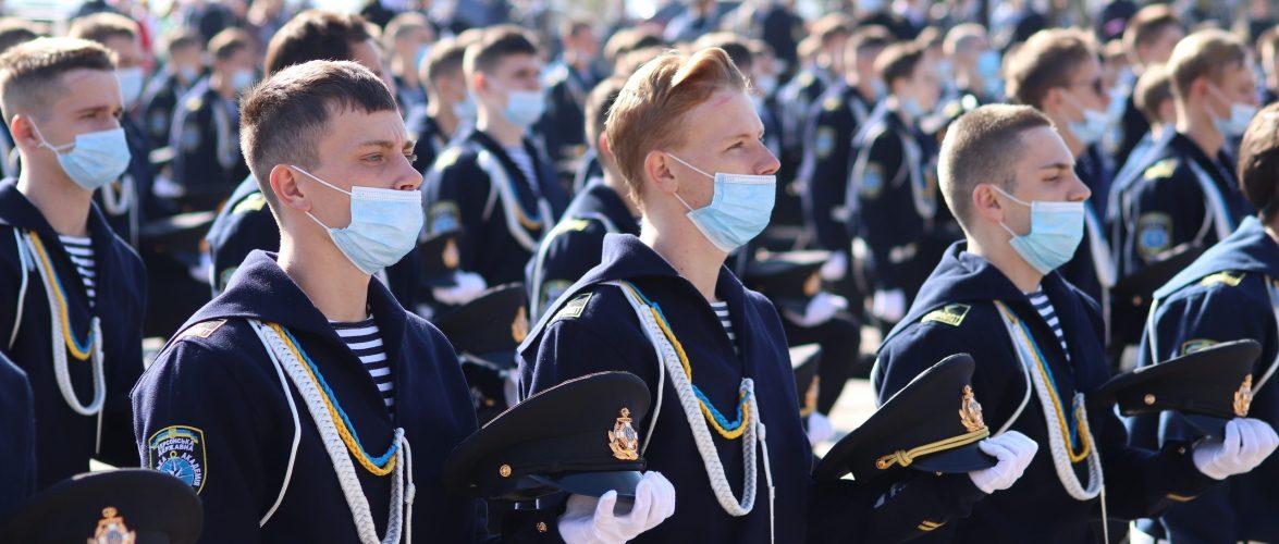 Понад 800 курсантів поповнили Херсонську морську академію та коледж