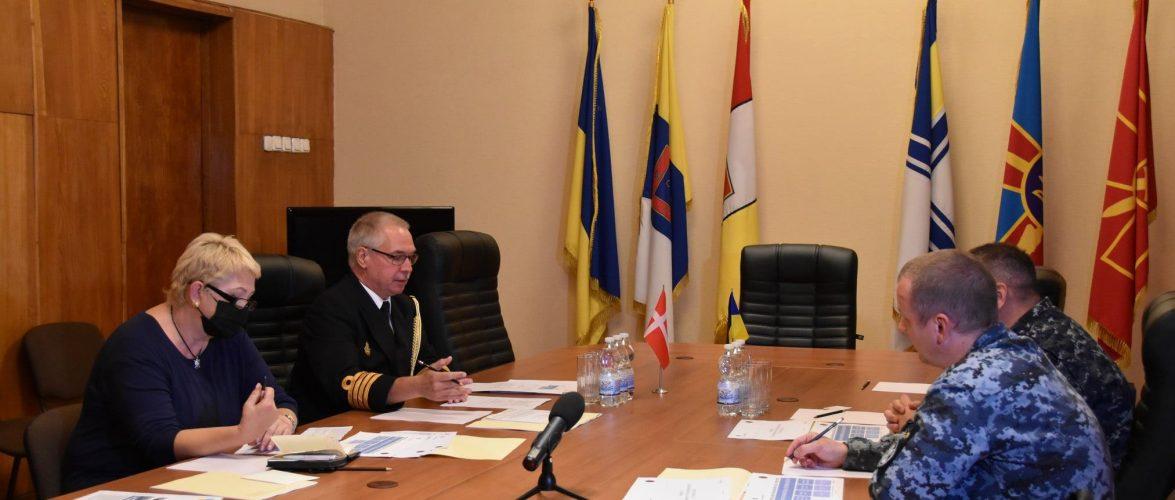 Командувач ВМС обговорив з представником Данії будівництво кораблів для України