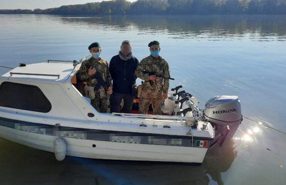 На Дунаї знову затримали моторний човен, що порушив український кордон